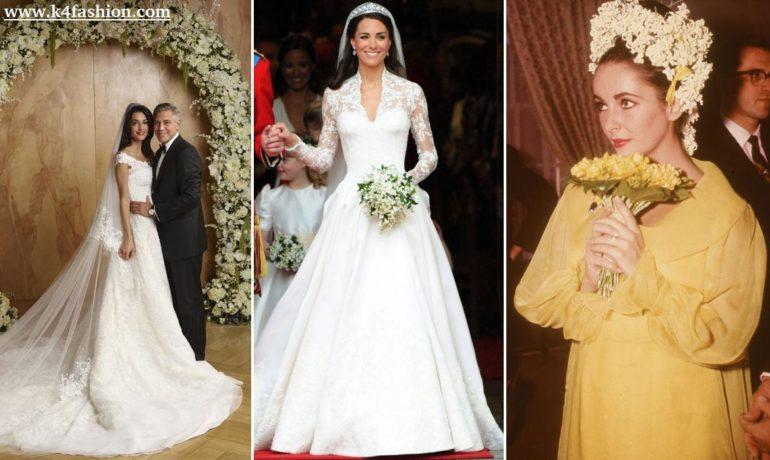 15 Most Iconic Wedding Dresses in Fashion History - K4 Fashion