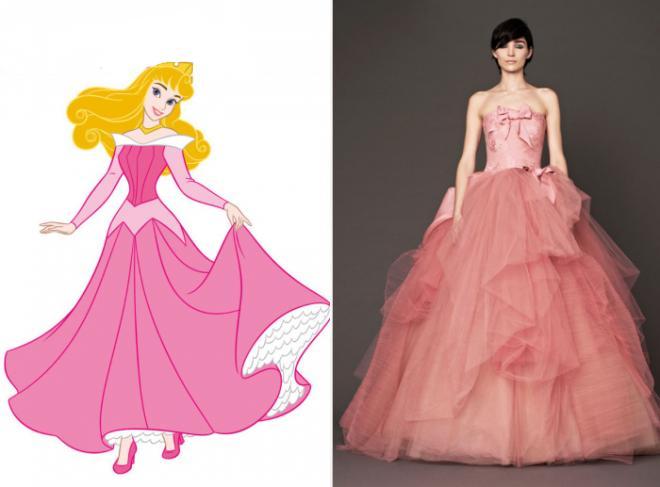 15 Wedding Dresses Every Disney Obsessed Bride Will Love - K4 Fashion