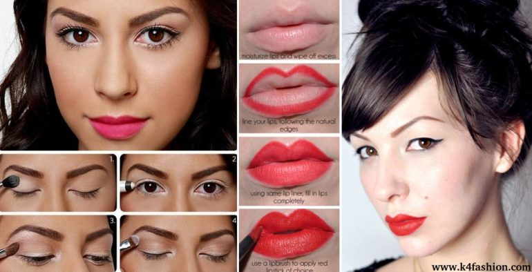 17 makeup tutorial for glamorous and dramatic holiday looks