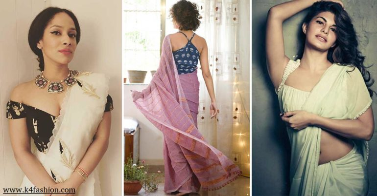 24 Amazing and Latest Saree Blouse Designs for Wedding & Party