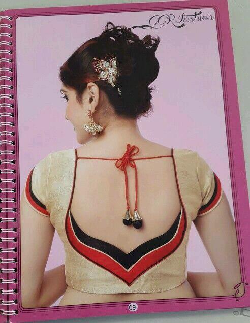 blouse ke piche ki design bataye - foto blouse and pocket