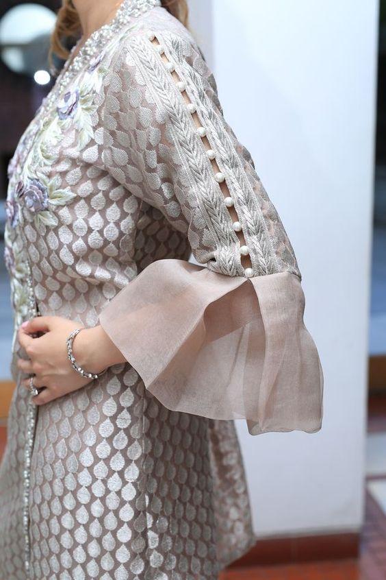 latest stylish sleeves designs for kurti kurta k4 fashion