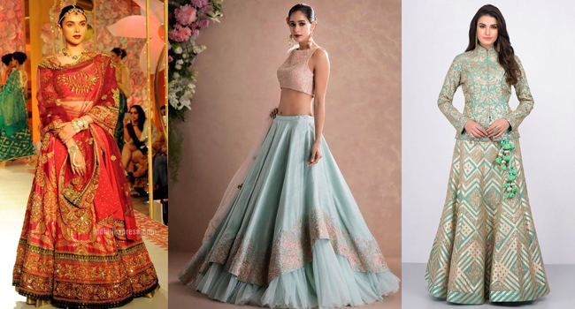 Stylish Lehenga Choli For Wedding 2019