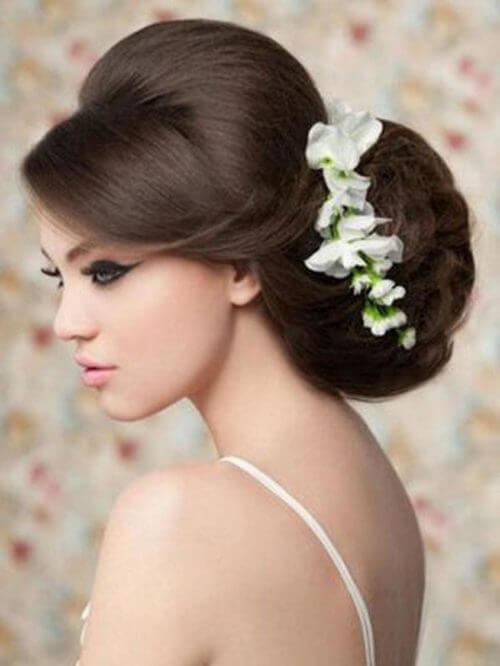 Stylish Puff Hairstyles For Round Face K4 Fashion