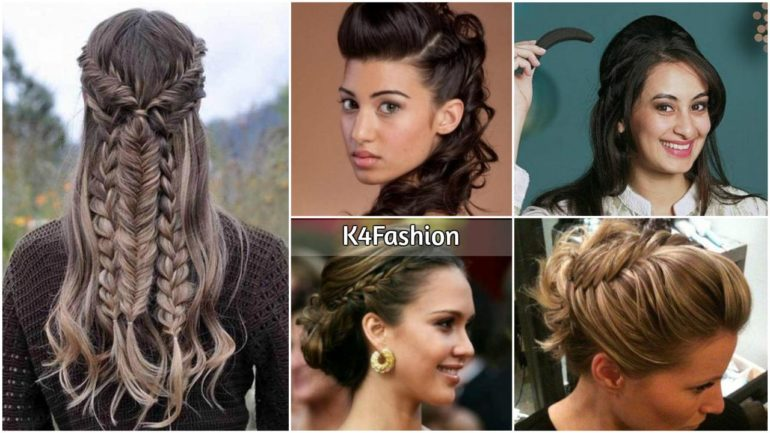 Stylish Puff Hairstyles For Round Face