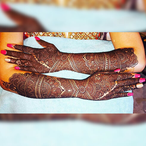 FULL HAND DESIGNS - Fashion Tips For Indian Brides Pre-Wedding Beauty & Fashion Tips For Indian Brides-To-Be