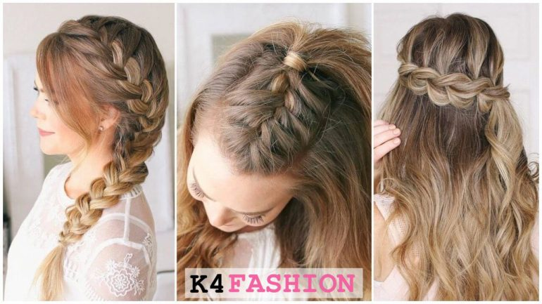 Quick and Easy French Braid Hairstyles for Girls - K4 Fashion