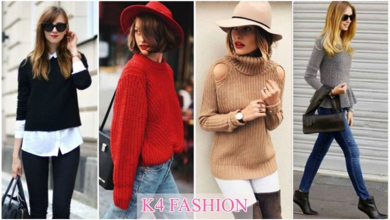 Different Types of Fall/Winter Sweaters for Women