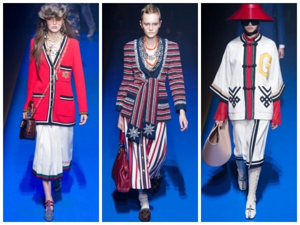 The work of Gucci Fashion