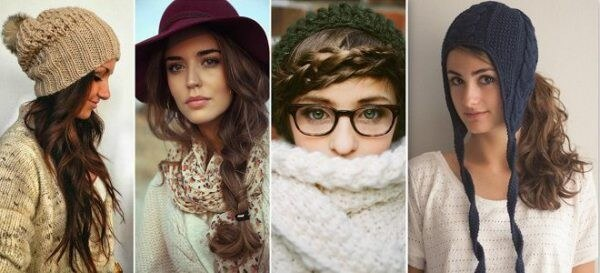Hairstyles for Winter Hat & Beanie