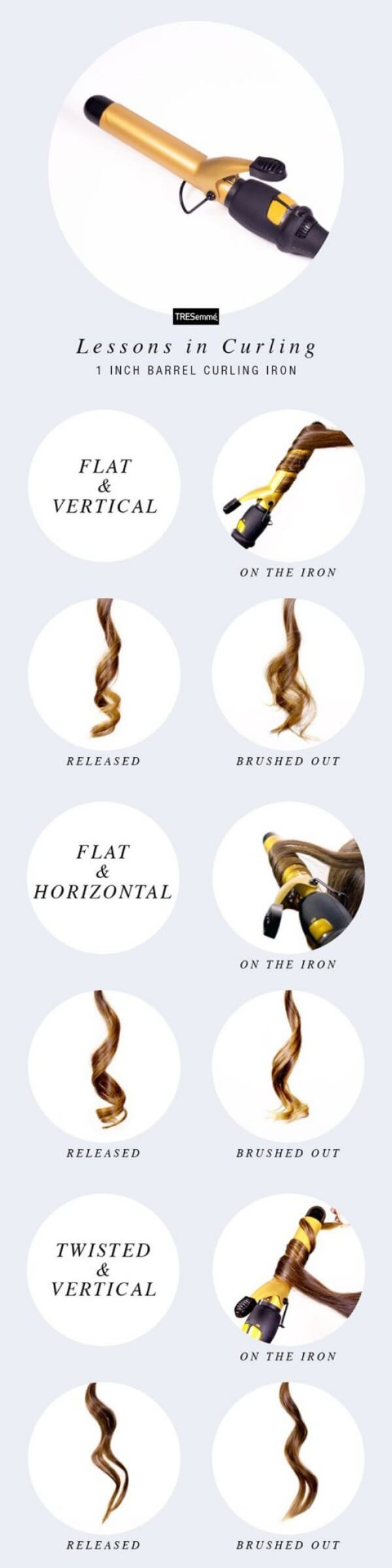 How To Make Curls With Curling Iron
