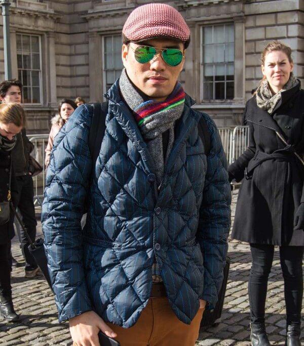 Quilted Jacket: Men's Winter Wear