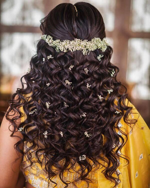 Soft tight curls