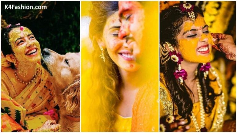 Unique Haldi Ceremony Photoshoot Ideas To Make Your Wedding Special