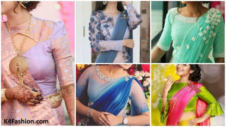 Modern Blouse Designs for Your Gorgeous Look