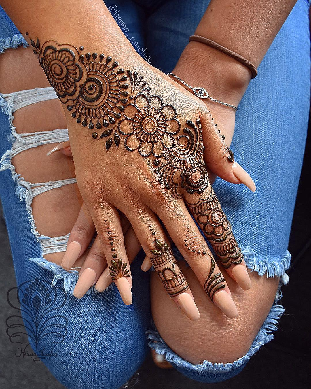 Easy Mehndi Designs Collection for Hand 2020 - K4 Fashion