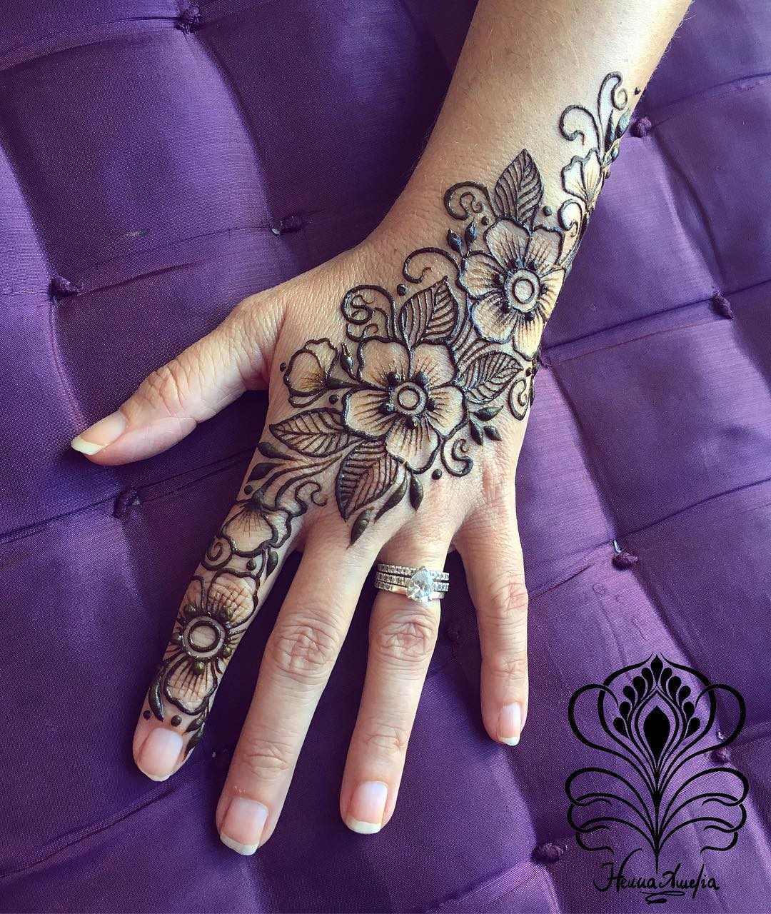 Floral Henna Designs: Easy Mehndi Designs Collection For Hand 2020